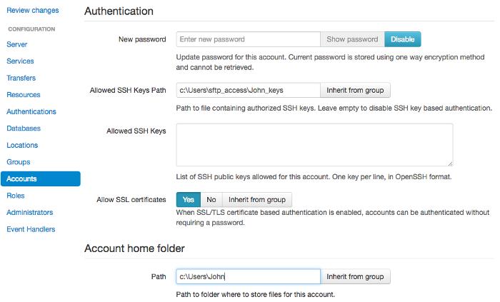 4 14  SSH (SFTP    | SFTPPlus Documentation | Server and