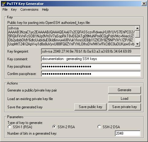 8 6  Generating      SFTPPlus Documentation   Server and